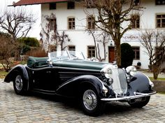 1939 Horch 853 - Horch 854 - родстер