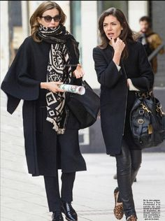 Queen Letizia went shopping in Madrid with her stylist Eva Fernández