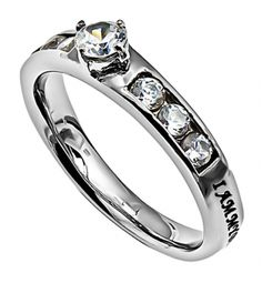 Princess Solitaire Ring - My Beloved | SonGear