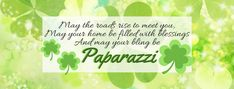 Paparazzi Accessories St. Patrick's Day Facebook Cover Photo. Click the pic to Shop with Me for Paparazzi $5 Jewelry, or Join my Team! #paparazziaccessories #stpatricksday #bling #paparazzibling #fivedollarjewelry #homebusiness #workathome #workfromhome #facebookcoverphoto #joinmyteam #karisjewelryboutique