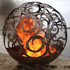 The Fire Pit Store - Fireball Fire Pits - Waves - 37.5 inch Fire Globe - 3715WA, $1,850.00 (http://www.thefirepitstore.com/fireball-fire-pits-waves-37-5-inch-fire-globe-3715wa/)