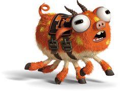 Monsters University│Monsters Inc. Disney Magic, Disney Pixar, Disney Characters, Disney Wiki, Walt Disney, Monsters Inc University, Mike And Sulley, Japanese Monster, Disney Infinity
