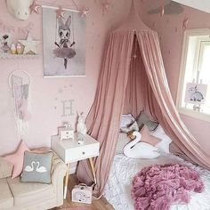 Kid Bed Canopy Bed Curtain Round Dome Hanging Mosquito Net Tent Curtain Moustiquaire Zanzariera - PINkart.in