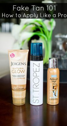 We tap our resident makeup artist for tips and tricks to getting the perfect summer glow at home #beautytips