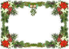 Christmas Borders and Frames 8. Green Borders 2.