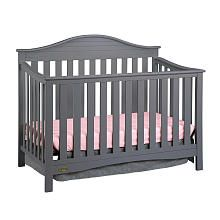 Graco Harbor Lights Fixed-Side Convertible Crib - Gray (220) converts to all sizes
