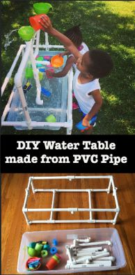 Easy to make, easy to store, LOTS of water play fun!