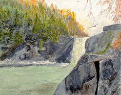 Waterfall by CarolynYM on DeviantArt