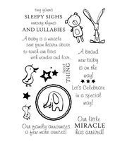 """My Sentiments Exactly Clear Stamps 4""""X6"""" Sheet-Sweet Thing"""