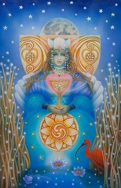 Queen of Cups from Cathy McClelland