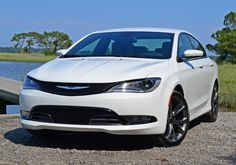 The appeal of the all-new Chrysler 200S starts and ends with its interior and exterior styling. My 200S AWD V6-trimmed test vehicle with its Bright White Clear Coat exterior paint, hyper black 19-inch wheels and nicely accent-trimmed black interior, all bring out the new coupe-like style of the 200S. Click the image to read more!