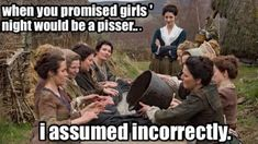Outlander Funny, You Promised, Guide Book, Girls Night, Location History, Scotland, Insight, Novels, Shit Happens
