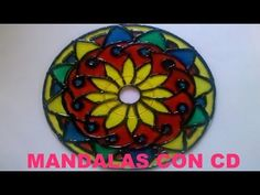 Tutorial - Cómo hacer Mandalas con CD - YouTube