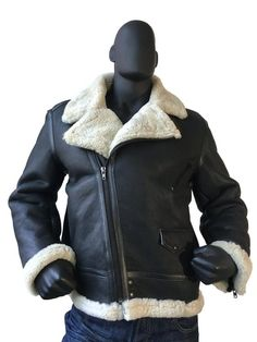 Sheepskin Jacket With Patent Leather Style #5900L MENS http://earlybirdsclothing.com/products/sheepskin-jacket-with-patent-leather-style-5900l-mens?utm_campaign=crowdfire&utm_content=crowdfire&utm_medium=social&utm_source=pinterest