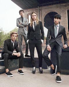 Cara Delevingne - DKNY Spring 2015 Ad Campaign.