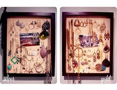 Jewelry Display Shadow boxes :)