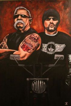 American Chopper. Glad father & son  have settled business, let hope they can rebuild family ties