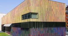 Museum Brandhorst, Munich Germany.  #NBK™ #Terracotta #Facade Panels  #architecture