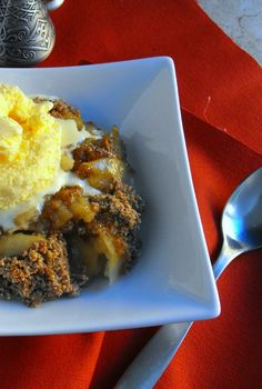 This gluten free apple crisp is heavy on apple flavor with a light cinnamon topping featuring almond meal. Add a scoop of vanilla ice cream and you are in apple heaven!