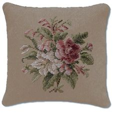 A huge range of floral spray designs suitable for cushions, footstools or chair seats. Cross Stitch Embroidery, Cross Stitch Patterns, Cross Stitch Cushion, Tapestry Kits, Vintage Romance, Cross Stitch Flowers, Needlepoint, Tapestry Floral, Throw Pillows