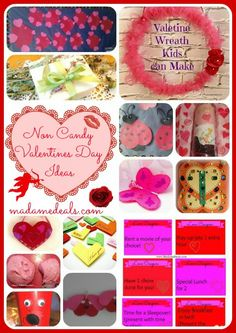 Non Candy Valentines Day Creative Ideas #valentinesday #crafts