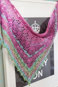 kungen & majkis: Virkad Elise-sjal.