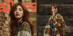 Suzy graced the cover of 'Allure'!Suzy went to Australia's Melbourne to take a fall-themed photoshoot for the September issue of the magazine… Miss A Suzy, Korean Wave, Korean Fashion, Melbourne, Bae, Kpop, Photoshoot, Culture, Autumn