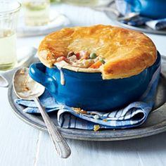 24 Chicken Casserole Recipes: Loaded Chicken-Bacon Pot Pie