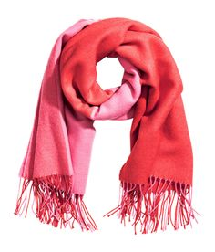 Check this out! Large scarf in soft woven fabric. Size 35 1/2 x 67 in. - Visit hm.com to see more.