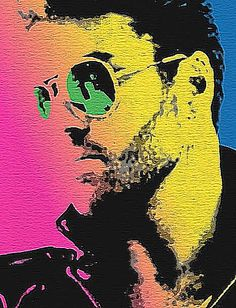 George Michael - pop art                                                                                                                                                                                 Más