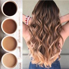 Ombre How to take care of dyed hair – Just Trendy Girl. Alpingo Balayage , How to take care of dyed hair – Just Trendy Girl. How to take care of dyed hair – Just Trendy Girl. How to take care of dyed hair – Just Trendy Gi. Brown Hair Balayage, Hair Color Balayage, Ombre Highlights, Brown Hair To Ombre, Natural Ombre Hair, Caramel Hair Highlights, Natural Waves Hair, Dark Ombre, Blonde Balayage