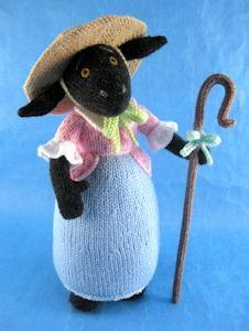 Alan Dart Knitting Pattern: Little Bo Sheep from Simply Knitting Magazine Issue 131 Simply Knitting, Knitting For Charity, Baby Knitting, Knitted Dolls, Crochet Toys, Knitting Projects, Knitting Patterns, Alan Dart, Flamingo Pattern