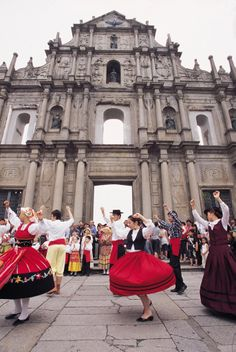 """Portugal (Portuguese) Folk Dance - because we wouldn't be known as """"life and coffee"""" if we didn't love a little Portuguese tradition."""