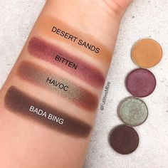 Makeup Geek Eyeshadows Quad ideas #3