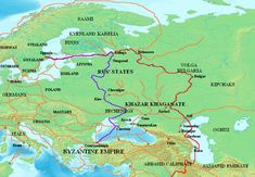 Viking route.