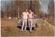 Lasse Lindroos, Vote Argillander, Ford Cortina Suomi Finland