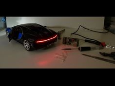 How to install LED lights in a model car - YouTube