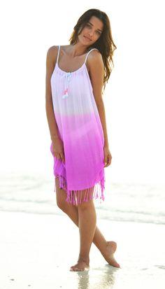 Romantic Coco Bay Vibe Beachdress by Seafolly #beachdress #seafolly #valentine
