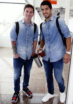 Messi and Suárez
