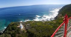View From Cape Otway Lightstation a 40 minute drive from Best Western Apollo Bay  #bestwesternapollobay #apollobay #local #explore #greatoceanroad #travel #australia #victoria #lighthouse #roundthetwist by bestwesternapollobay