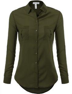 Cheap Button Down Shirts for Womens Shirt MEDIUM OLIVE J.TOMSON http://www.amazon.com/dp/B00JX37TEA/ref=cm_sw_r_pi_dp_ZHwMtb1AFAZW6NE7
