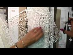 The beautiful new Delightfully Detailed laser cut specialty paper debuting June 1st can use altered in so many ways but there are a few challenges to working with it. I'll share some tips for using it, for altering it and some great ideas in this RemARKably created one take video. Remember that you can Request …