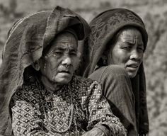 Women of Nepal 5# by Yvette Depaepe
