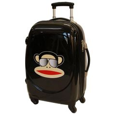 Paul Frank Julius Monkey Shades Suitcase £67.99 This is going to be my new suitcase