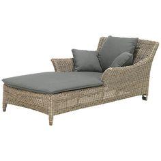 Buy 4 Seasons Outdoor Valentine Sunlounger, Praia Online at johnlewis.com