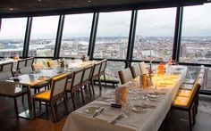 Euromast Restaurant Rotterdam, Table Settings, Restaurant, Diner Restaurant, Place Settings, Restaurants, Dining, Tablescapes