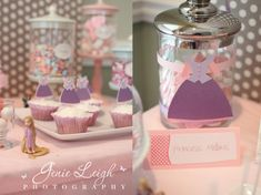 Tangled Birthday Party: Cute party accents