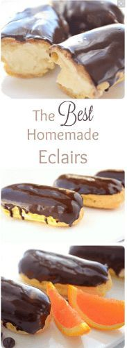 Chocolate Eclair Recipe Chocolate Eclair Recipe