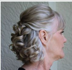 Image result for mother of the bride hair