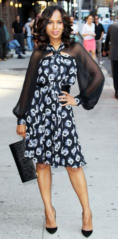 Kerry Washington's 10 Best Looks Ever - Prabal Gurung in 2013 from #InStyle